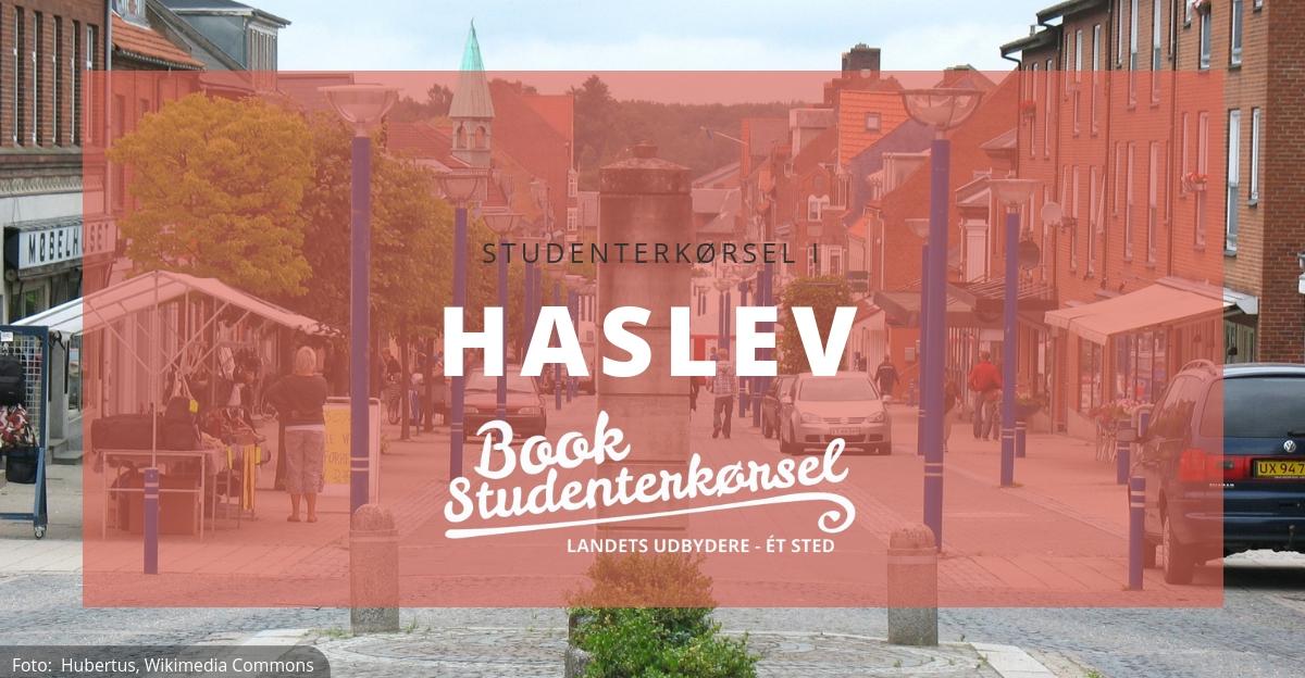 Haslev Book Studenterkørsel