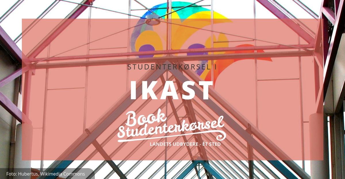 Studenterkørsel i Ikast