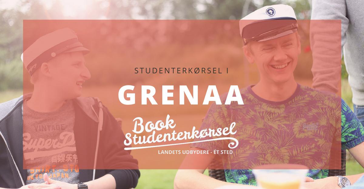 Studenterkørsel i Grenaa