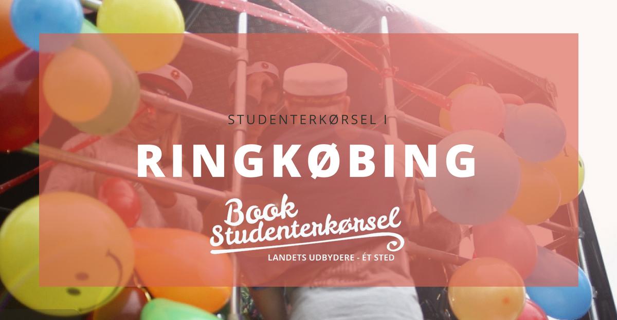 Studenterkørsel i Ringkøbing