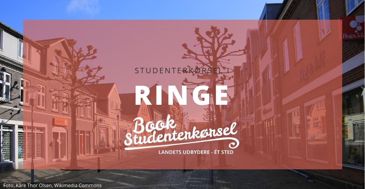 Studenterkørsel i Ringe