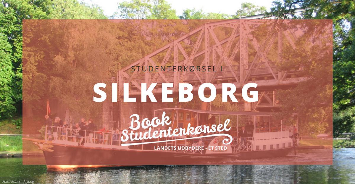 Studenterkørsel i Silkeborg