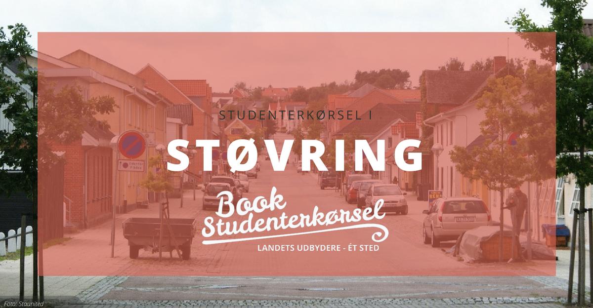 Studenterkørsel i Støvring
