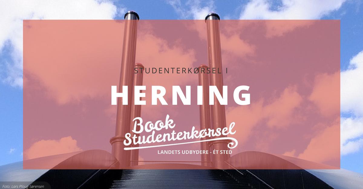 Studenterkørsel i Herning