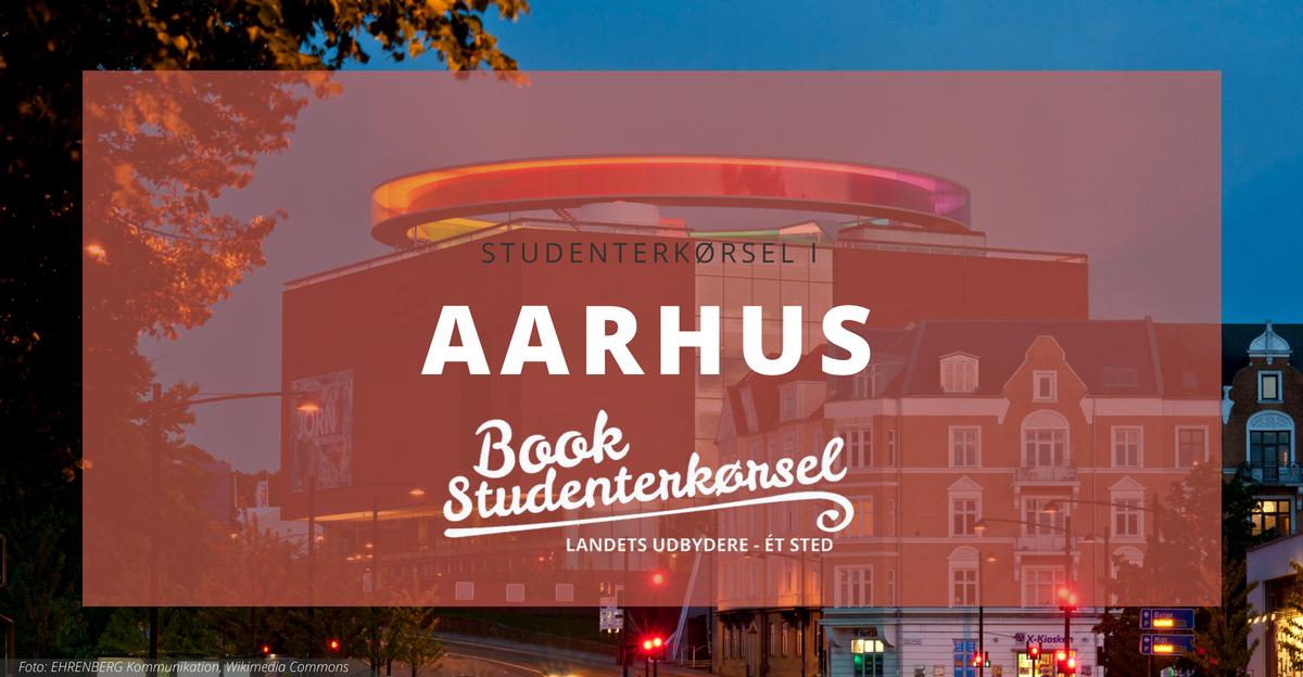 Studenterkørsel i Aarhus