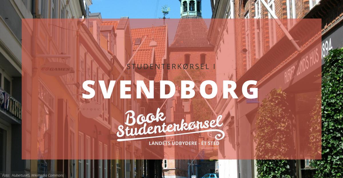 Studenterkørsel i Svendborg