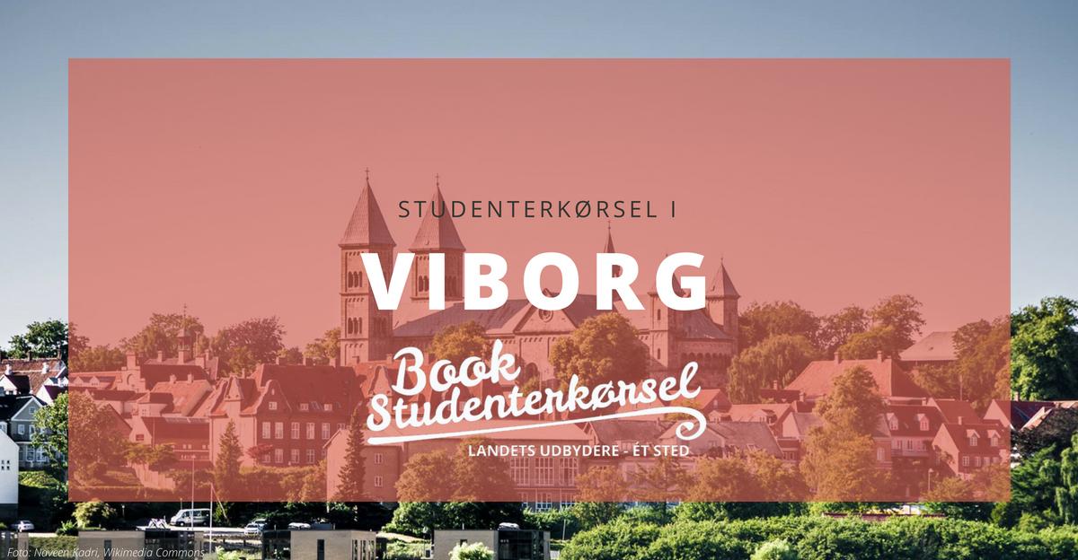Studenterkørsel i Viborg