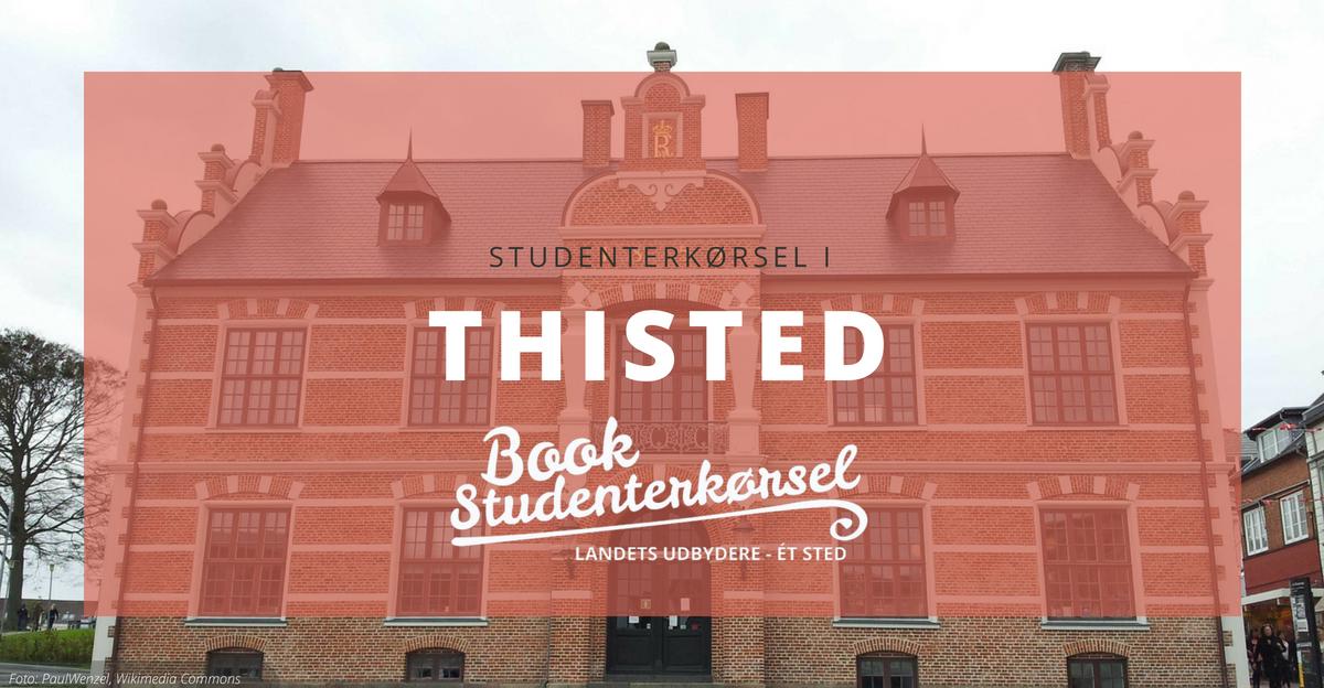 Studenterkørsel i Thisted