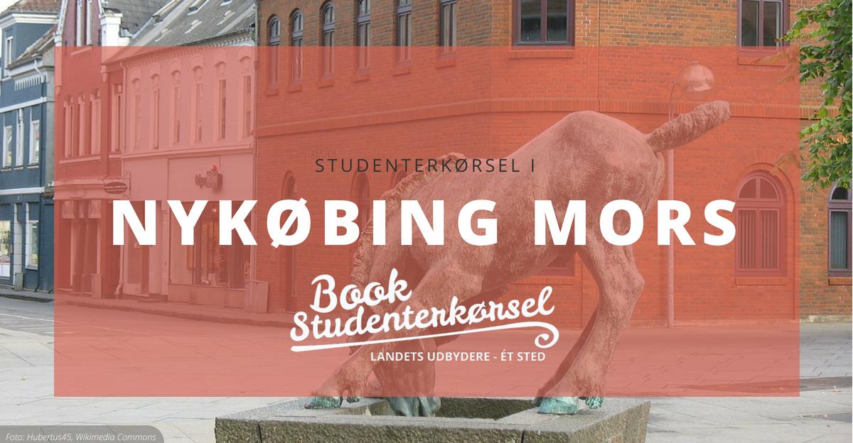Studenterkørsel i Nykøbing Mors