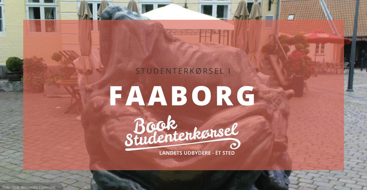 Studenterkørsel i Faaborg