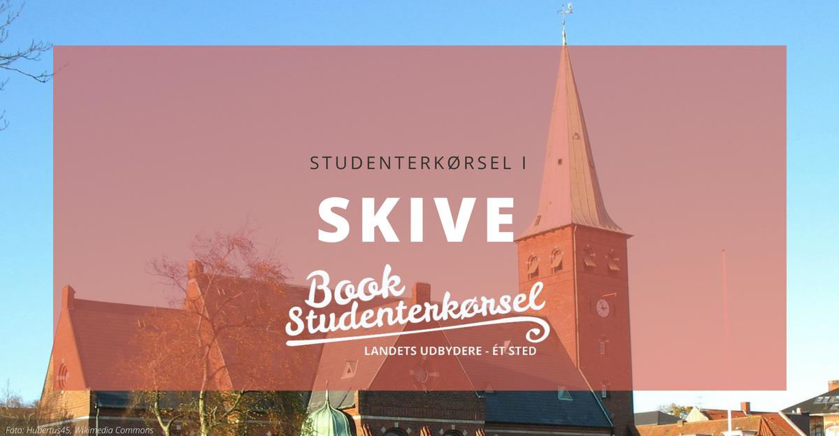 Studenterkørsel i Skive