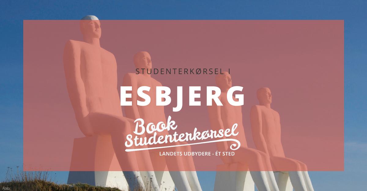 Studenterkørsel i Esbjerg