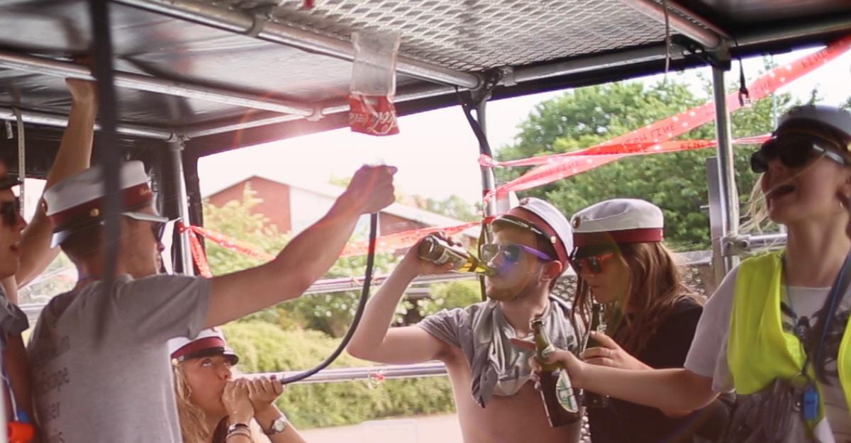 Frederiksværk Studenterkørsel ølbong