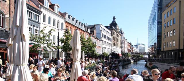 aarhus er midtjyllands hovedstad