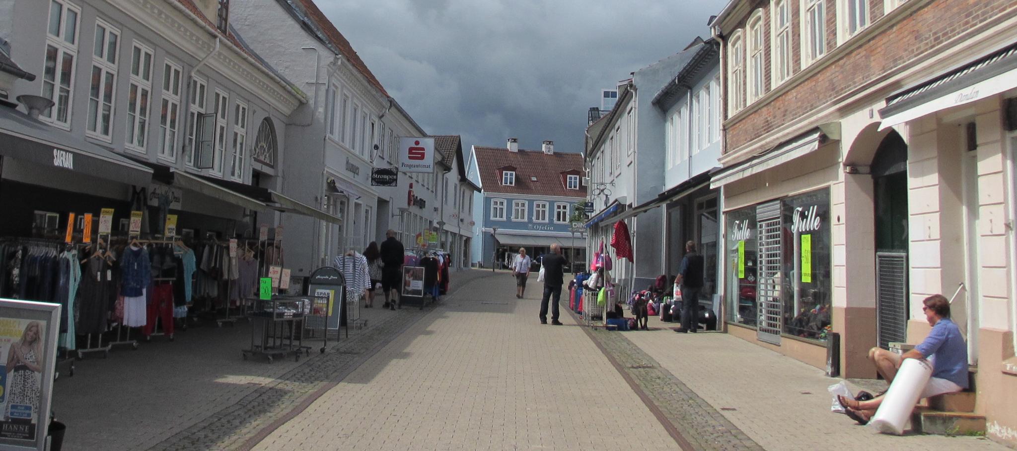 hyggelige strøgture i de sjællandske gader