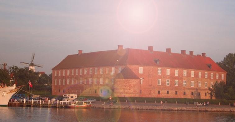 Sønderborg slot efter Studenterkørslen