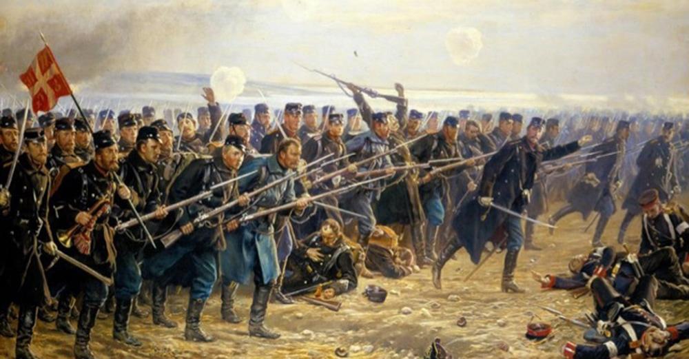 Studenterkørsel i historiske Sønderborg