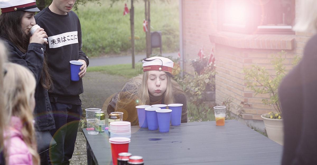 Studenterkørsel fest