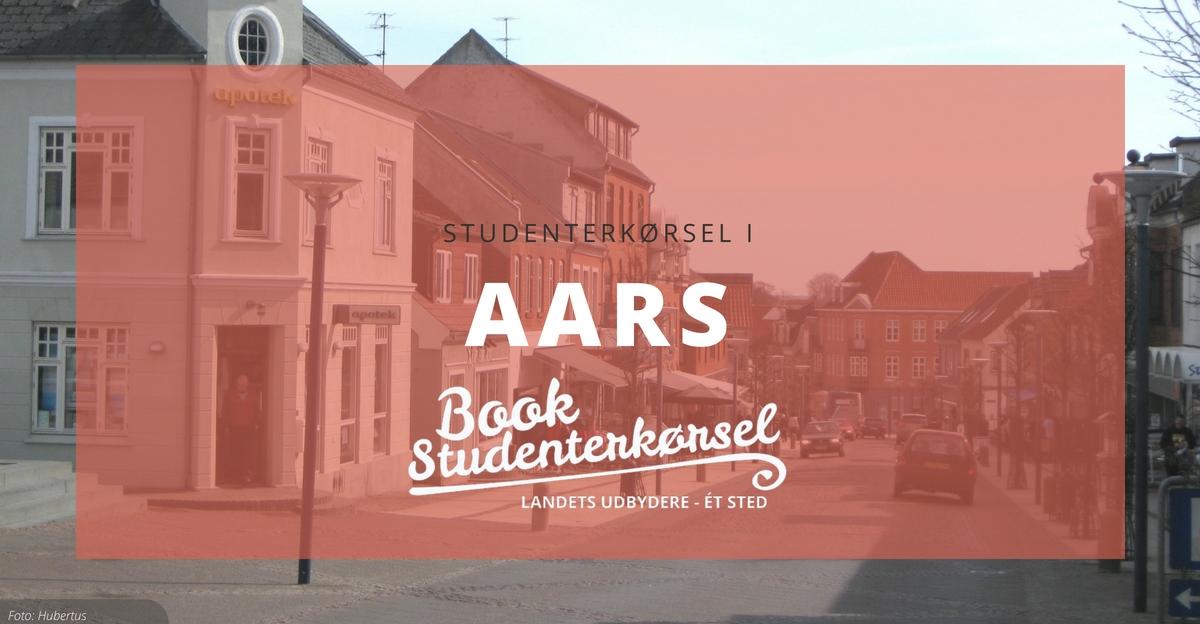 Studenterkørsel i Aars