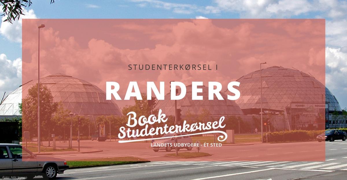 Studenterkørsel i Randers
