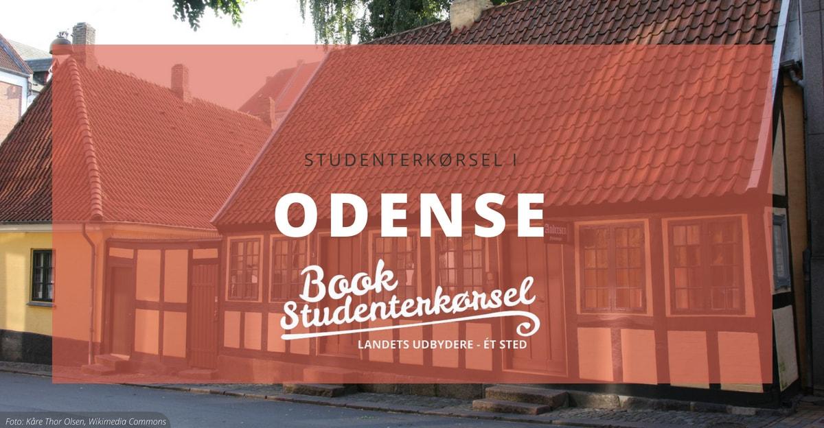 Studenterkørsel i Odense