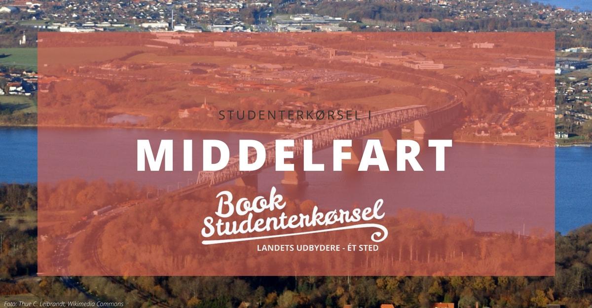 Studenterkørsel i Middelfart