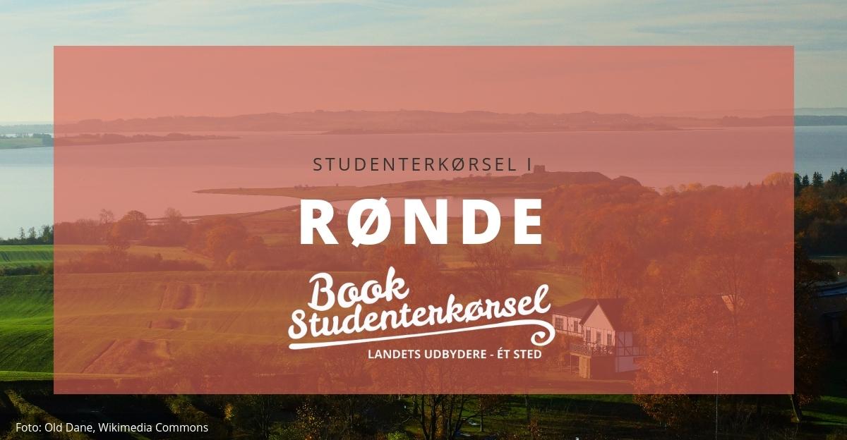 Studenterkørsel i Rønde