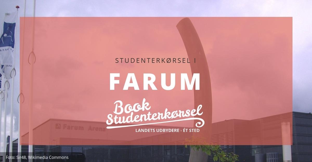 Studenterkørsel i Farum
